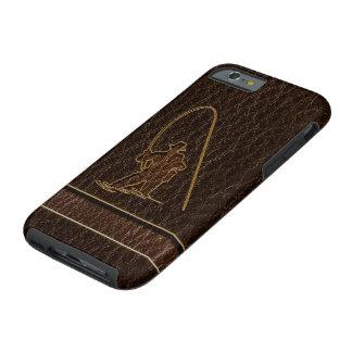 Leather-Look Fisherman Dark Tough iPhone 6 Case