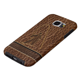 Leather-Look Fisherman Samsung Galaxy S6 Case
