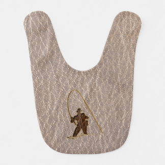 Leather-Look Fisherman Soft Bib