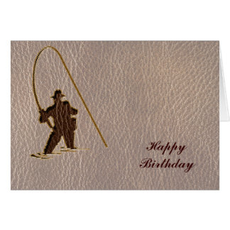 Leather-Look Fisherman Soft Card