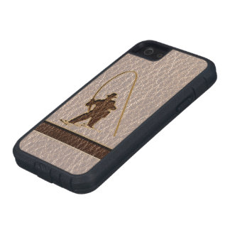 Leather-Look Fisherman Soft iPhone SE/5/5s Case