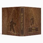 Leather-Look Fisherman Vinyl Binder