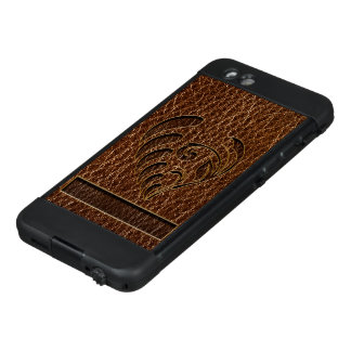 Leather-Look Flower LifeProof NÜÜD iPhone 6 Case