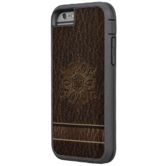 Leather-Look Flower Star Dark Tough Xtreme iPhone 6 Case