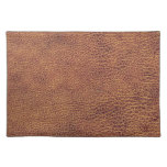 Leather Look for Men or Women Cloth Place Mat