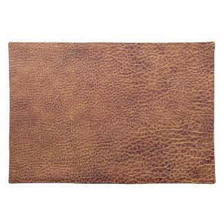 Leather Look for Men or Women Cloth Placemat