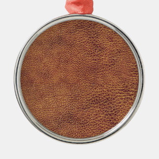 Leather Look for Men or Women Metal Ornament