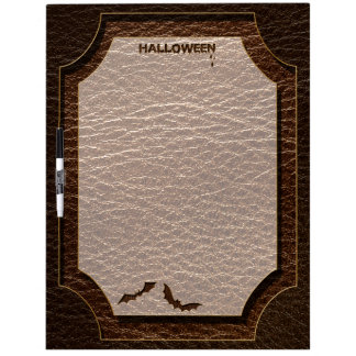 Leather-Look Halloween 1 Dry Erase Board