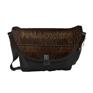 Leather-Look Halloween 1 Messenger Bag