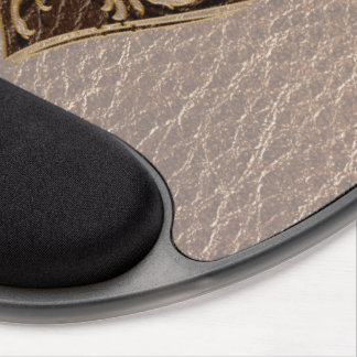 Leather-Look Heart Soft Gel Mouse Pads