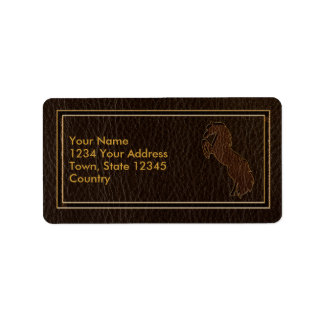 Leather-Look Horse 2 Dark Label