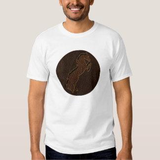 Leather-Look Horse 2 Dark Shirt