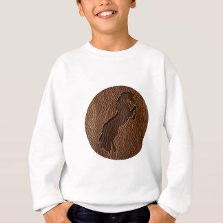 Leather-Look Horse 2 Sweatshirt