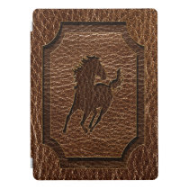 Leather-Look Horse iPad Pro Cover
