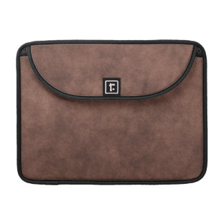 Leather Look In Chocolate Brown Sleeves For MacBooks