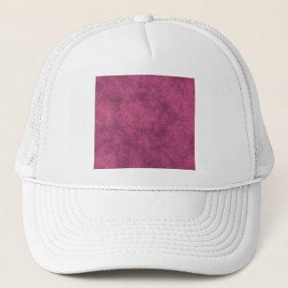 Leather Look In Dusty Pink Trucker Hat