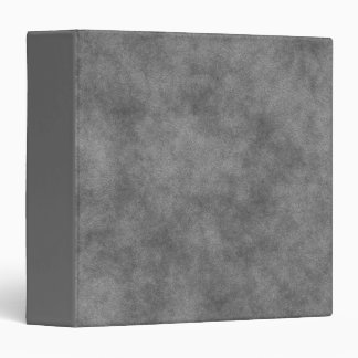 Leather Look In Slate Gray 3 Ring Binder