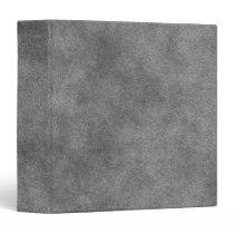 Leather Look In Slate Gray Binder