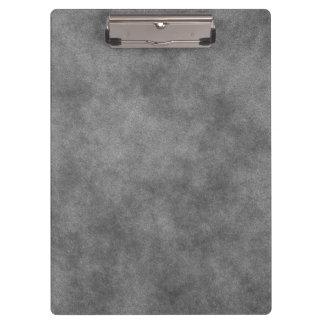 Leather Look In Slate Gray Clipboard
