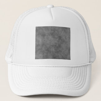 Leather Look In Slate Gray Trucker Hat
