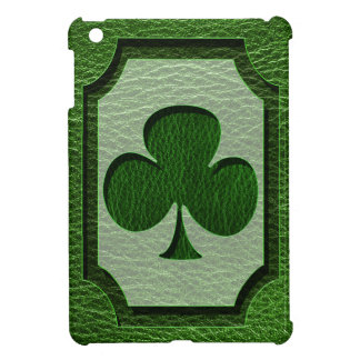 Leather-Look Irish Clover iPad Mini Cases