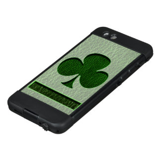 Leather-Look Irish Clover LifeProof NÜÜD iPhone 6 Case