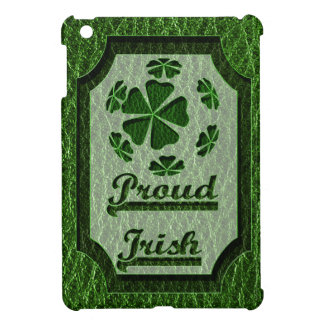 Leather-Look Irish CloverBall iPad Mini Cover