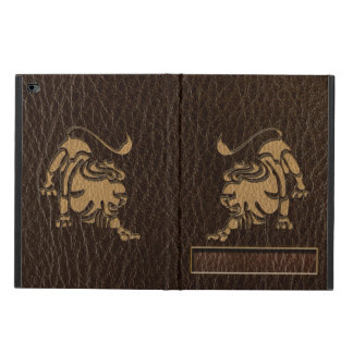 Leather-Look Leo Powis iPad Air 2 Case