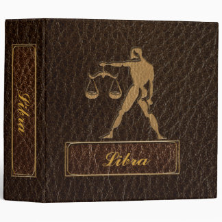 Leather-Look Libra 3 Ring Binder