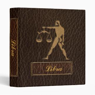 Leather-Look Libra Binder