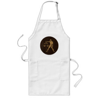 Leather-Look Libra Long Apron