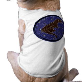 Leather-Look Native American Zodiac Otter Shirt