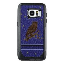 Leather-Look Native American Zodiac Owl OtterBox Samsung Galaxy S7 Edge Case