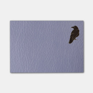 Leather-Look Native American Zodiac Raven Post-it® Notes