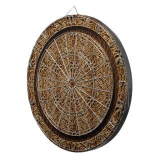 Leather-Look Ornament Dartboard