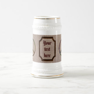 Leather-Look Peace Colour Soft Beer Stein