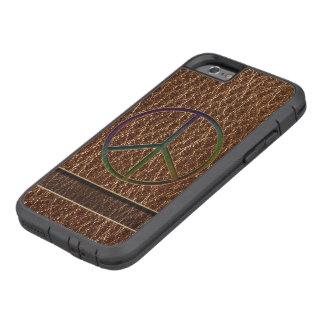 Leather-Look Peace Colour Tough Xtreme iPhone 6 Case