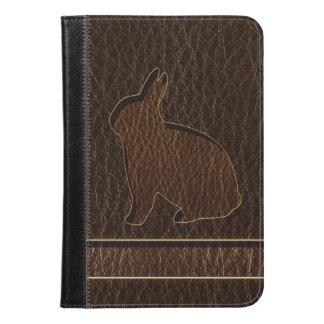 Leather-Look Rabbit Dark