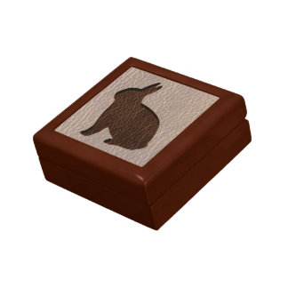 Leather-Look Rabbit Soft Gift Box