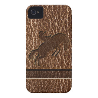 Leather-Look Rodeo Case-Mate iPhone 4 Case