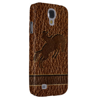 Leather-Look Rodeo Samsung Galaxy S4 Cover