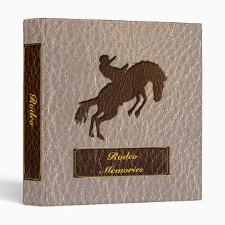 Leather-Look Rodeo Soft 3 Ring Binder