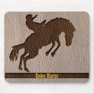 Leather-Look Rodeo Soft Mouse Pad