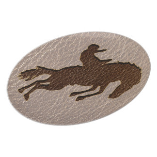 Leather-Look Rodeo Soft Plate