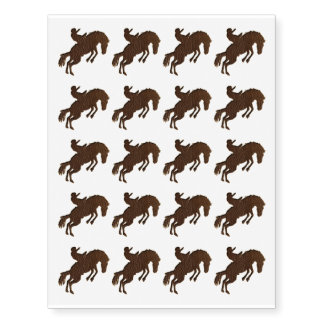 Leather-Look Rodeo Temporary Tattoos