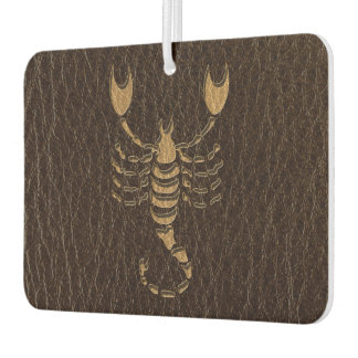Leather-Look Scorpio Air Freshener