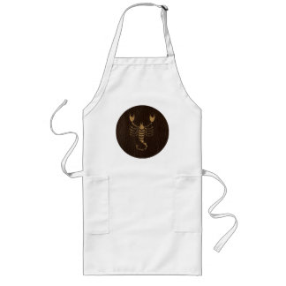 Leather-Look Scorpio Long Apron