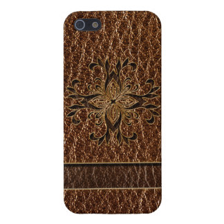 Leather-Look Star iPhone SE/5/5s Case