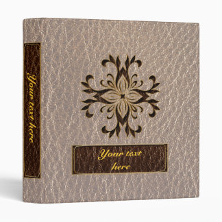 Leather-Look Star Soft 3 Ring Binder