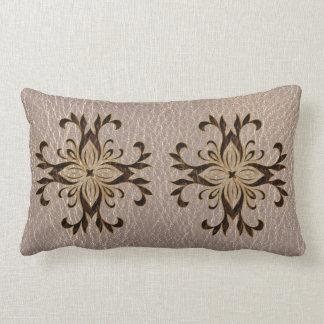 Leather-Look Star Soft Lumbar Pillow